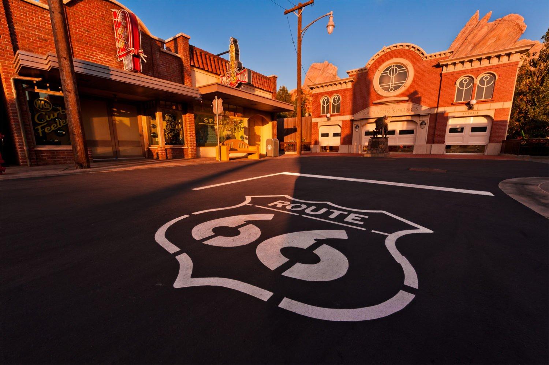 Uno scorcio della mitica Route 66