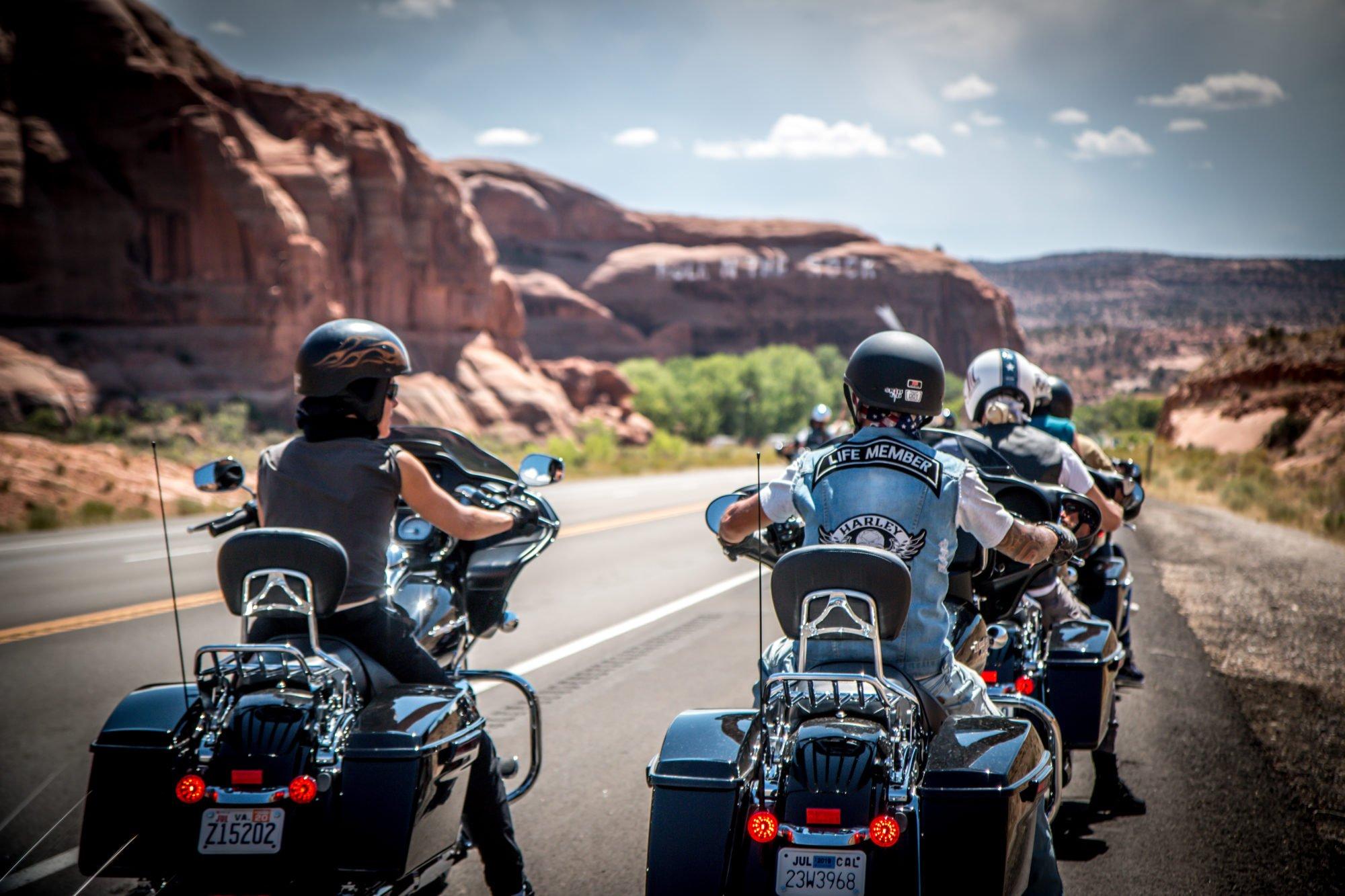 America in moto, i nostri viaggi Be-Twin®, la semplicità del gruppo, l'intraprendenza della libertà di viaggiare